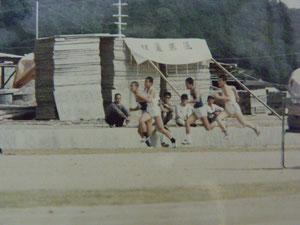 中学校陸上西播大会100m3位