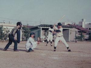 オニツカKK早朝野球この試合4番バッター