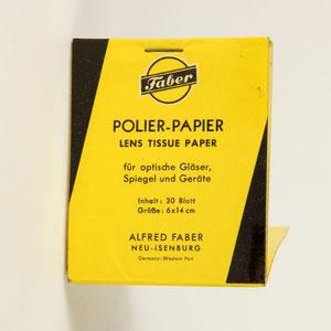 FABER Polier-Papier © engel-art.ch