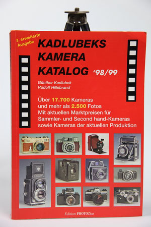 Kadlubeks Kamera Katalog   ©  engel-art.ch