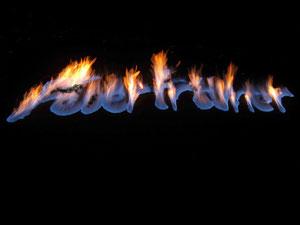 Feuerschriftzüge