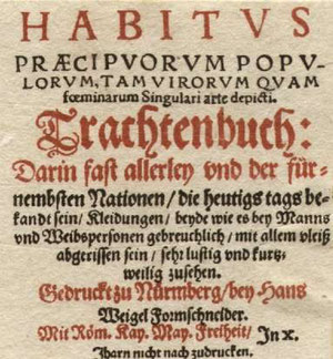 Weigels Kostümbuch(1577)