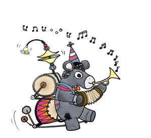 Eseline macht gerne Musik