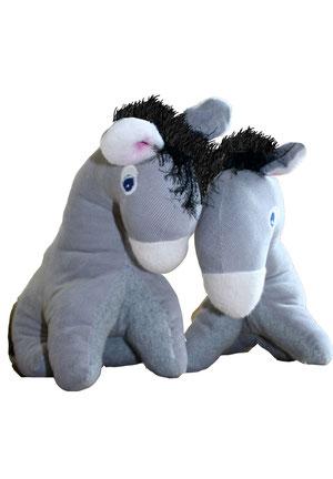 Esel und Eseline