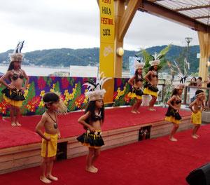 Keiki Hula&Tahitian dance