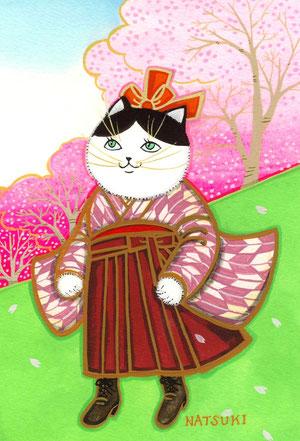 岡野千代子ちゃん 桜