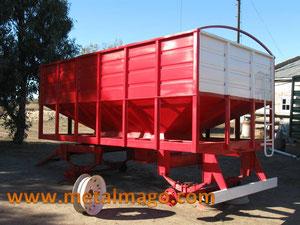 carro granero para 8 Tn
