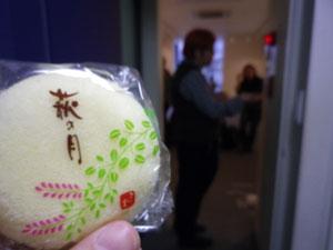 芦川さんから頂いたお菓子☆搬入メンバーでおいしく頂きました☆