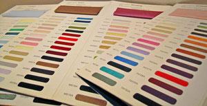 貴女の好きな色でドレスをお作りします。