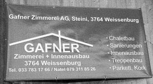 Logo Gafner Zimmerei AG