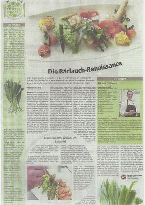 Die Bärlauch - Renaissance mit Facts von Andreas Buß
