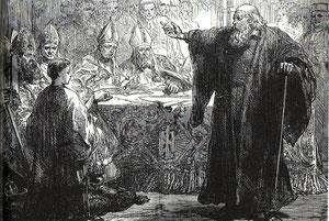 Wycliffe da testimonio de su fe ante sus acusadores