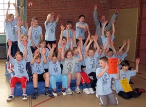 Mattenhandballturnier im Schuljahr 2008/2009