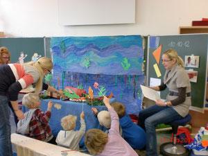 """Die Projektwoche """"Unterwasserwelt"""" im Schuljahr 2012/2013"""
