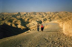 Wüste 40 Tage war Jesus in diesem Gebiet