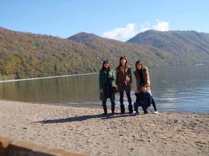 綺麗な支笏湖