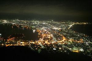 見事な夜景