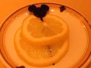 レモンスライスの楊枝