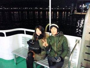 関門海峡の夜景クルーズ