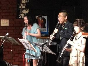 若い演奏家達が眩しいです!