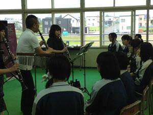 ライブ@江陵中学校