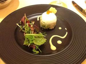 マスカルポーネと野菜