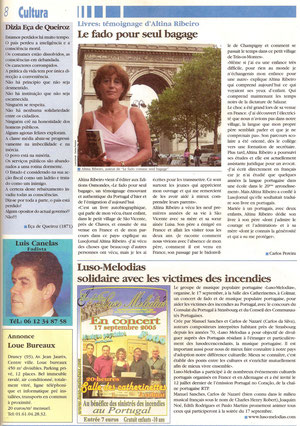 LUSOJORNAL n° 40 du 15 septembre 2005