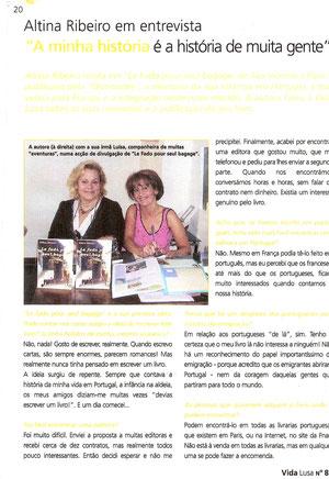 VIDA LUSA, n° 85 de février 2006