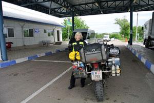 An der Grenze von Moldawien zur Ukraine