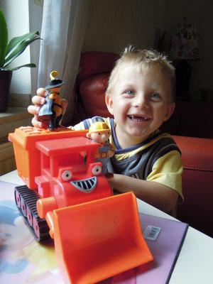 Florian ist jetzt ein Kindergartenkind