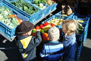 Ausflug zum Eschweiler Wochenmarkt