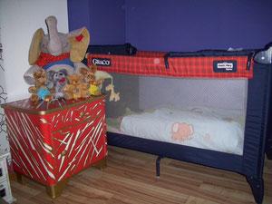 ein Schlafplatz
