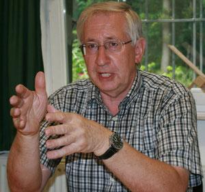 Werner Schiller -1. Vorsitzender der NABU-Ortsgruppe Damme