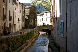 Le quai du Garel, St Jean de Buèges