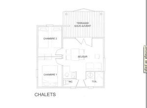 Visualiser le plan des chalets 1 à 11