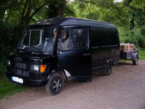 Treuer Wanderbus
