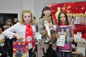 Большое спасибо Добролюбовой Ольге за помощь в выставлении животных!