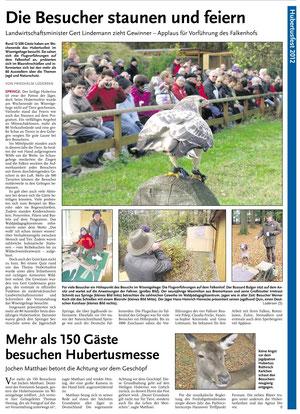 HAZ - Deisteranzeiger 29.10.2012