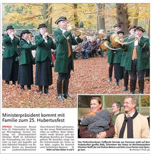 HAZ - Deisteranzeiger 27.10.2008