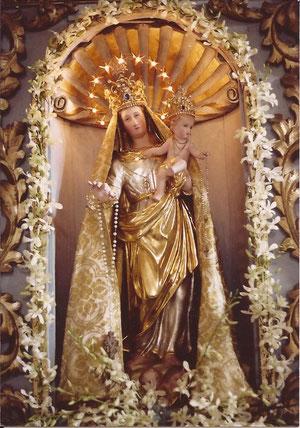 Statua della Madonna Assunta