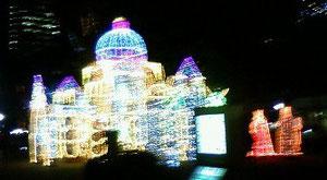 広島市平和大通りイルミネーション