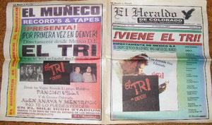 el primer ejemplar de El Heraldo de Colorado