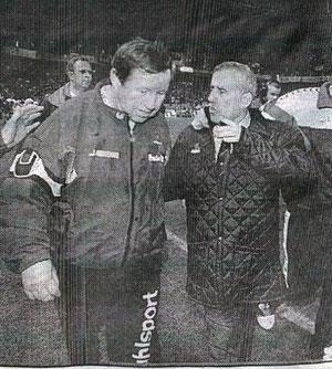 Guy Roux et Pierre Barlaguet
