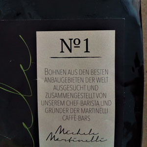 Martinelli Kaffe No. 1