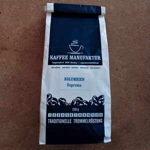Kaffee Kolumbien Supremo