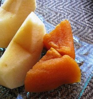 青森りんごとあんぽ柿♫お肌にバッチリいいね!