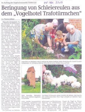 Volksstimme Schönebeck vom 03.07.2009