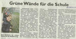 Generalanzeiger Schönebeck vom 4. Mai 2011