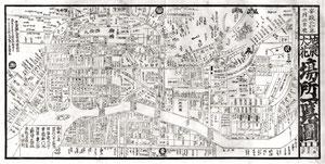 「小口木版の地図」・祖父制作