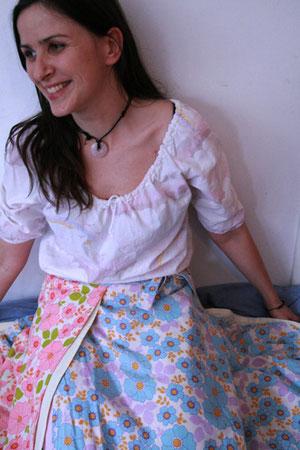 Bettwäsche zum Anziehen, Foto: B. Winkler